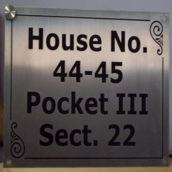House Name Plates Designs