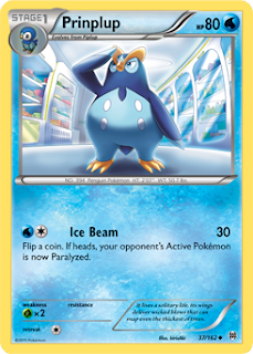 Prinplup BREAKthrough Pokemon Card