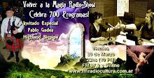 700 Programas! Invitado Pablo Gadea (Highland Bagpipe)