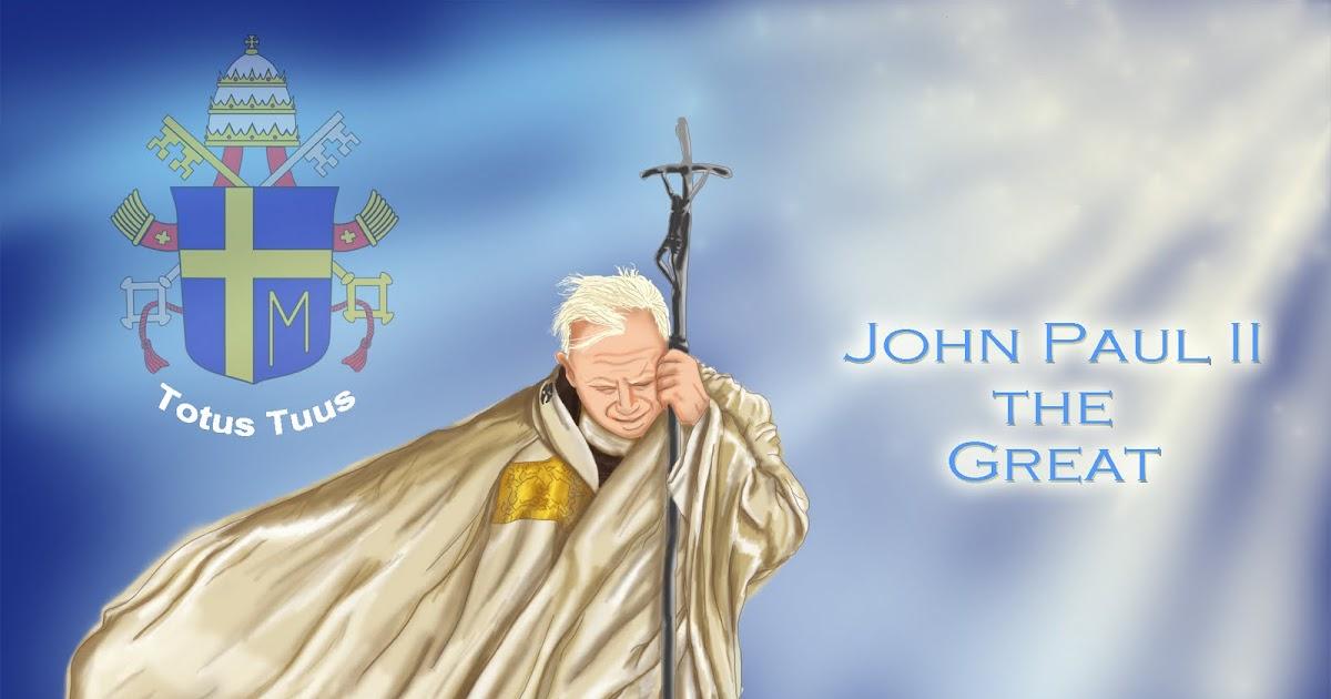 anaidace tribute to pope john paul iis beatification