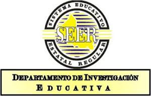 Mtro. Fernando I. Sevilla L. Personal de Investigación. SEER/DIE.