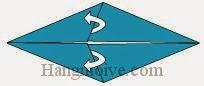 Bước 4: Mở lớp giấy, kéo lớp giấy sang phải.