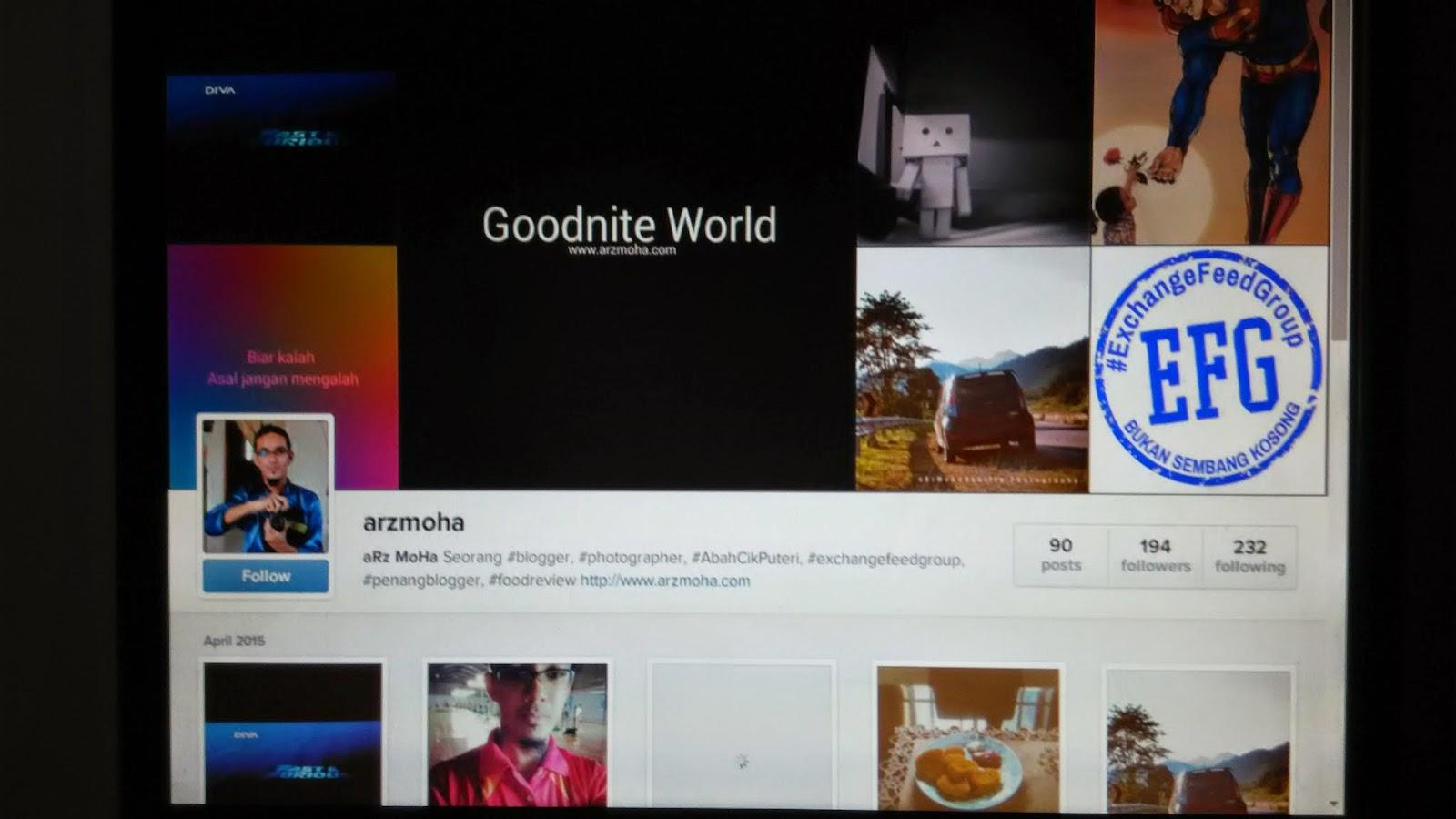 arzmoha, instagram, media social, follow instagram