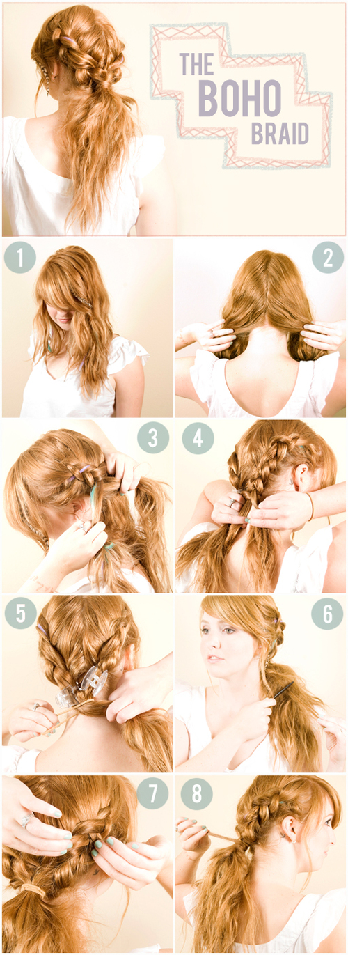 DIY: 8 Trendy Hair Do's That Take Just 10 Minutes!