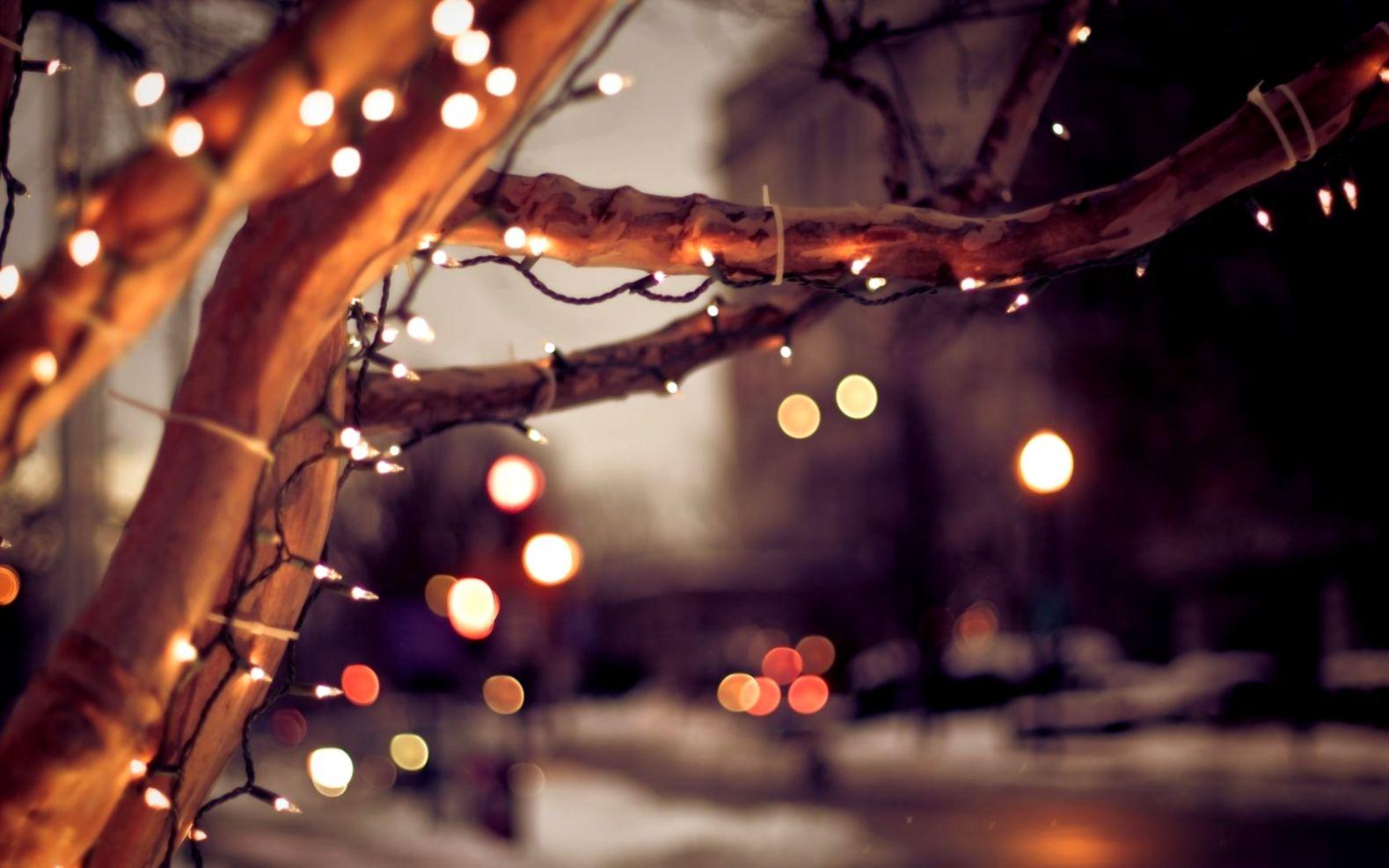Christmas Lights Software Desktop Wallpaper