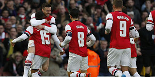 Video Gol Arsenal vs Liverpool 16 Februari 2014