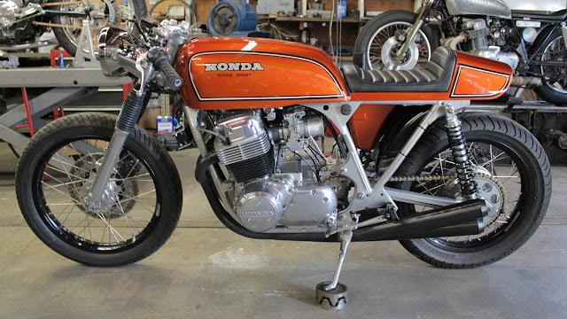 1975 Honda CB 750 Super Sport Cafe Racer