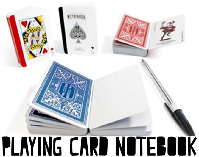 http://www.suck.uk.com/products/playing-card-notebook/