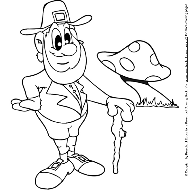 Leprechaun Coloring Pages,st patricks day,leprechaun title=