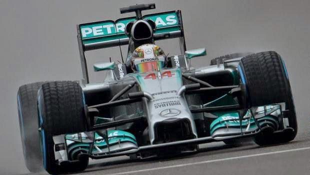 Lewis Hamilton Raih Pole Position di Kualifikasi GP China