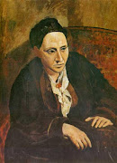 And here's Picasso's painting of Gertrude Stein: