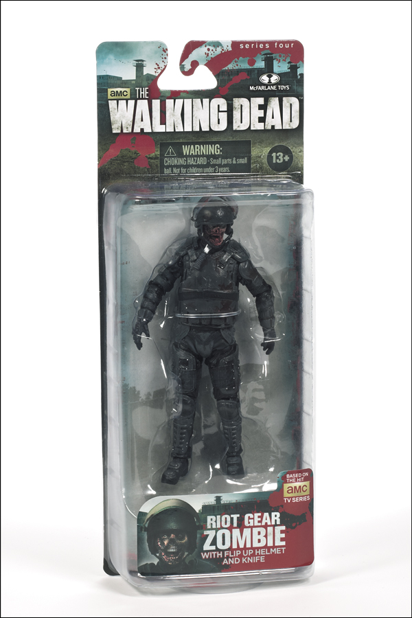 Riot Gear Action Figure Front Packaging