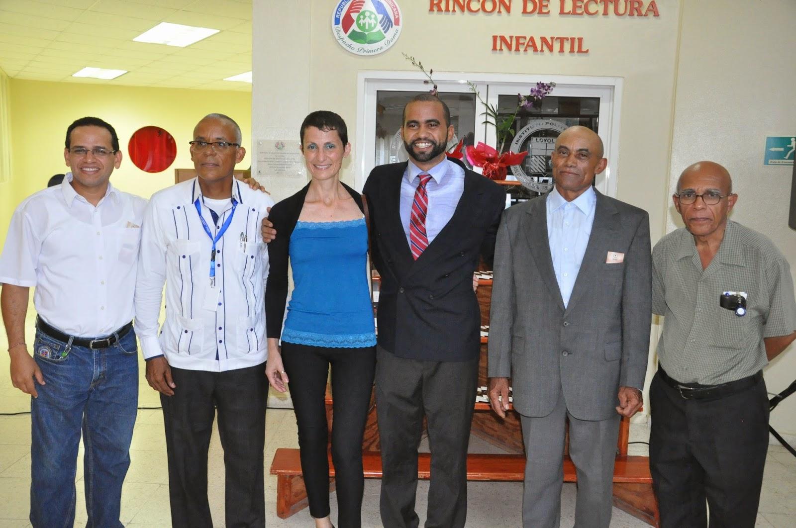 Ambiorix Polanco, Eugenio Galán, Michela Izzo, Cristino Alberto Gómez, Luis Ceferino Gómez y Rafael Amarabis Suero