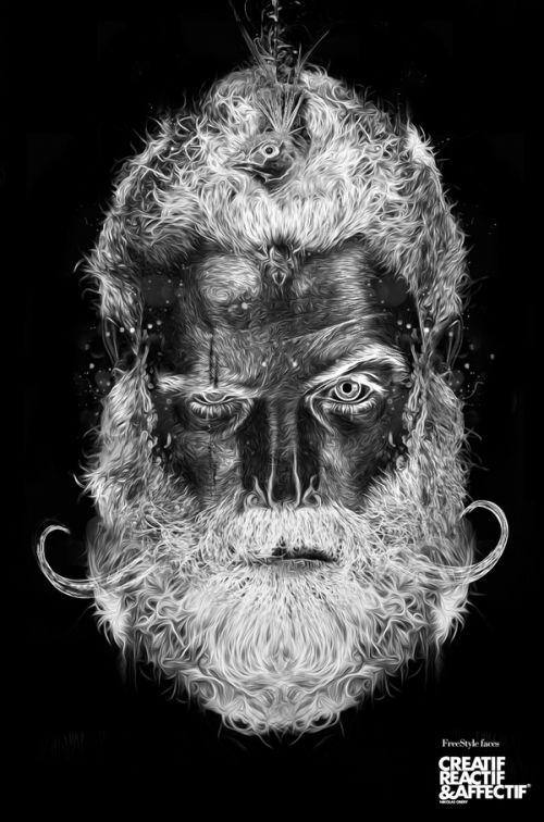 obery nicolas ilustração digital fantasmagórica macabra terror