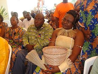Encyclopedie de la mode gabonaise style de mariage traditionnel gabonais - Decoration mariage traditionnel ...