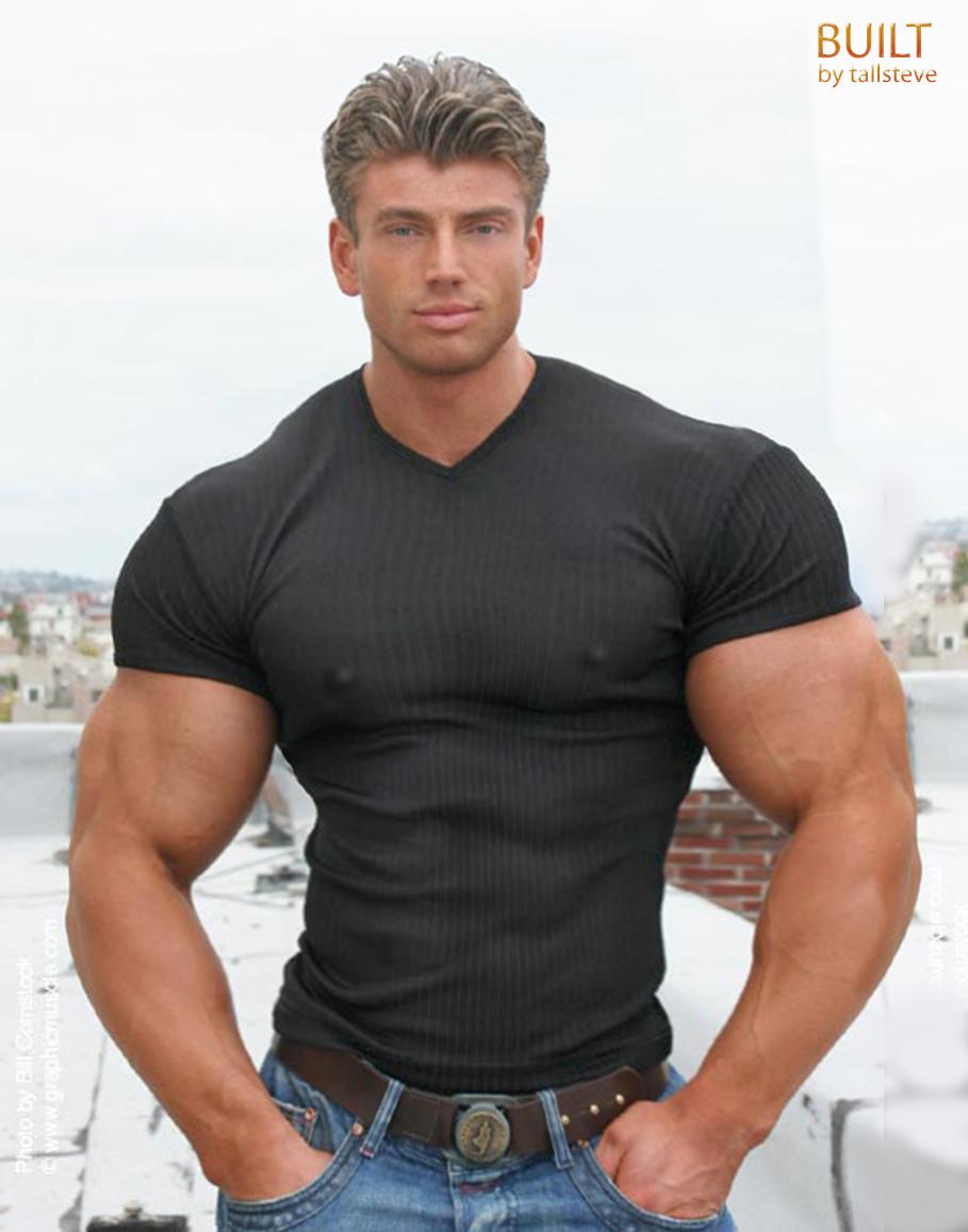 Built by tallsteve the t shirt issue for Buff dudes t shirt