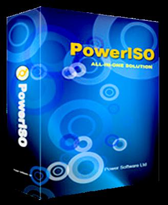 Poweriso v5.9 – potente Herramienta para Imagenes Virtuales ISO