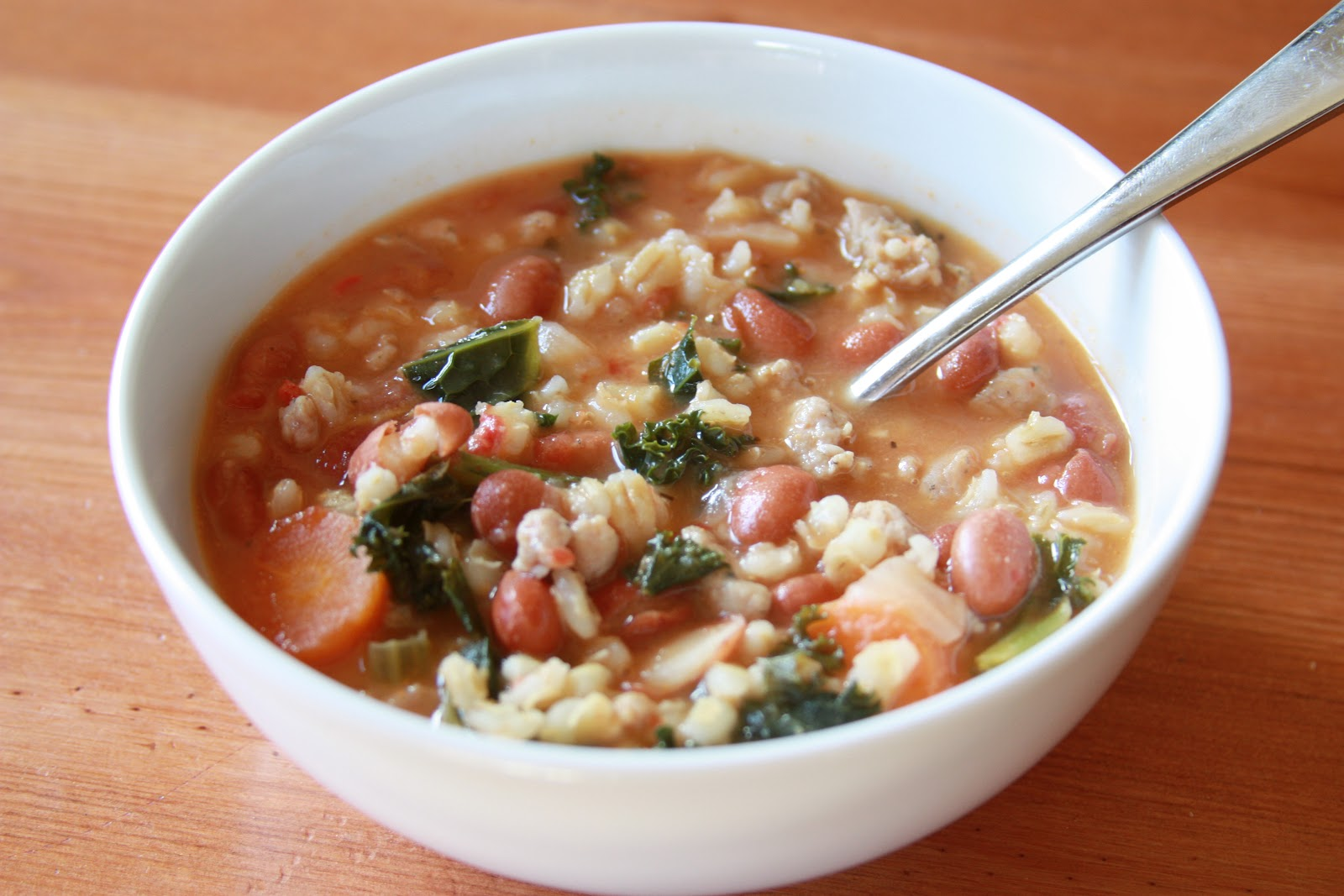 Bean And Sausage Soup Recipes — Dishmaps
