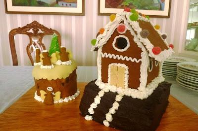 Casa de biscoito e confeitos; NATAL; SOBREMESA DE NATAL; BOLO CONFEITADO