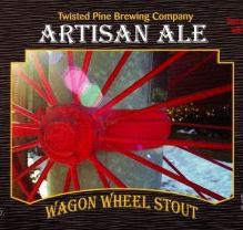 Twisted Pine Wagon Wheel Stout