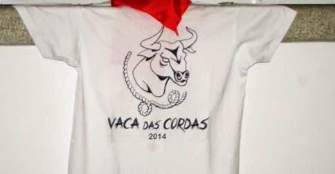 Camisola e lenço da Vaca das Cordas 2014 em Ponte de Lima