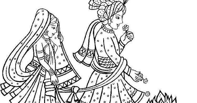 Mehndi Ceremony Clipart : Umang s thoughtosphere the why of hindu marriage