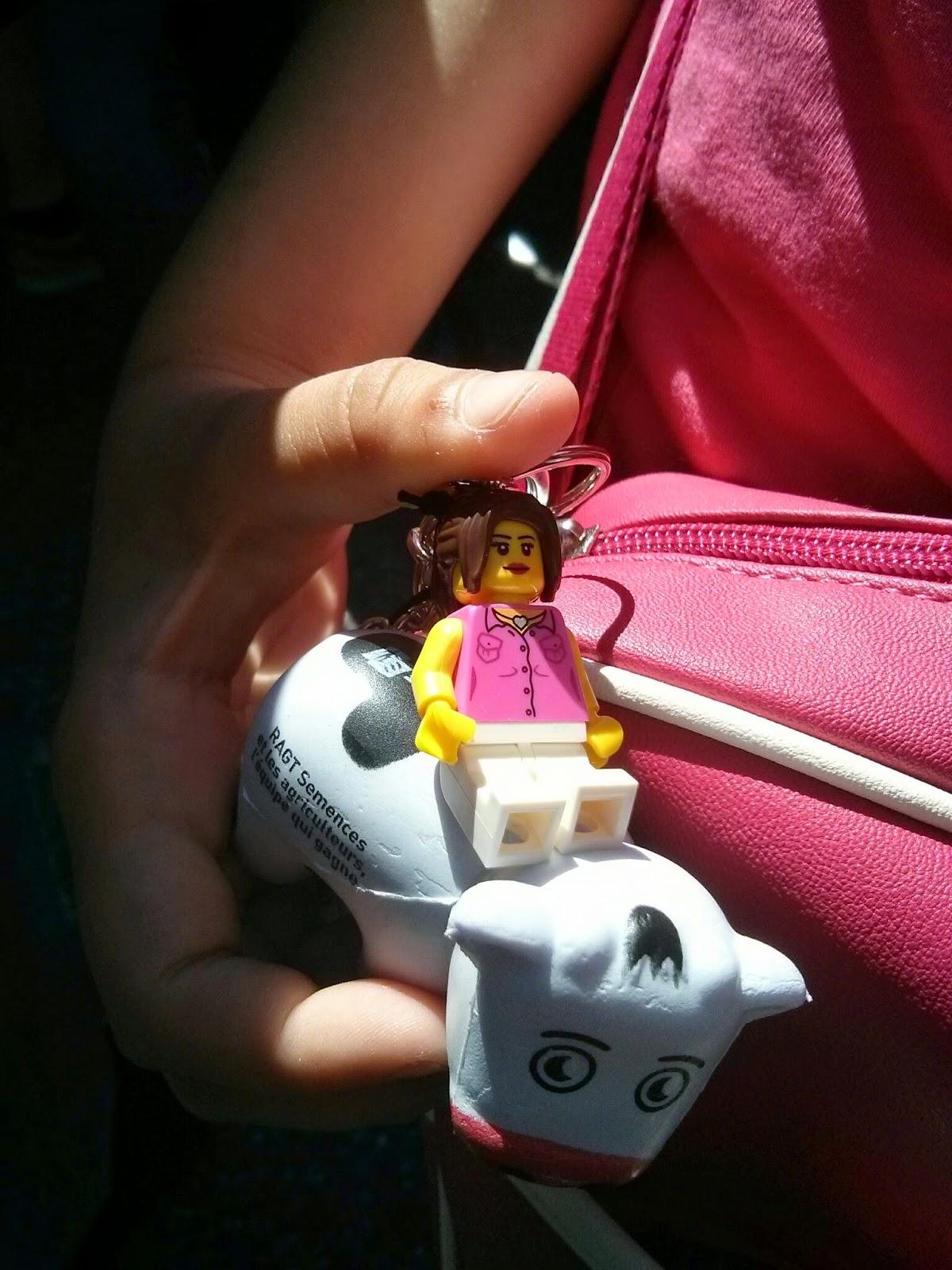 Lego Keyring
