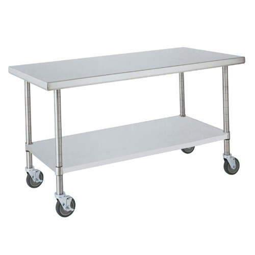 Stainless Steel Table : Stainless steel prep table