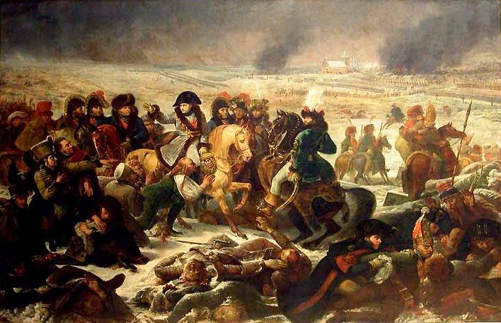 Napoleon at Eylau(Prussia) - LeGros 1808