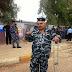 رغم اصابته ادلى بصوته بعملية الاقتراع الخاص  في العراق