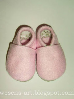 baby booties    wesens-art.blogspot.com