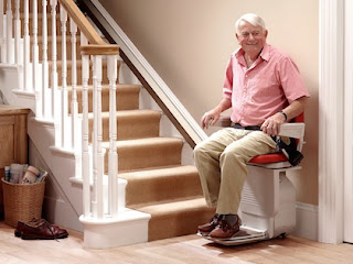The stairlift test: Important information for the purchase decision