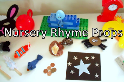 Nursery Rhyme Props for Creative Re-Telling
