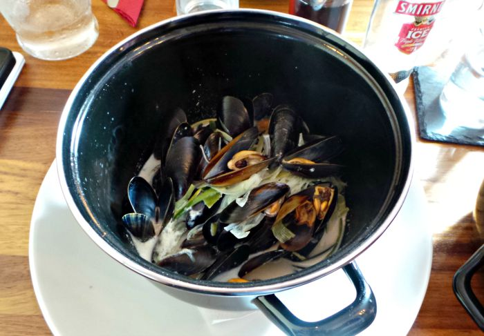 red lion mussels