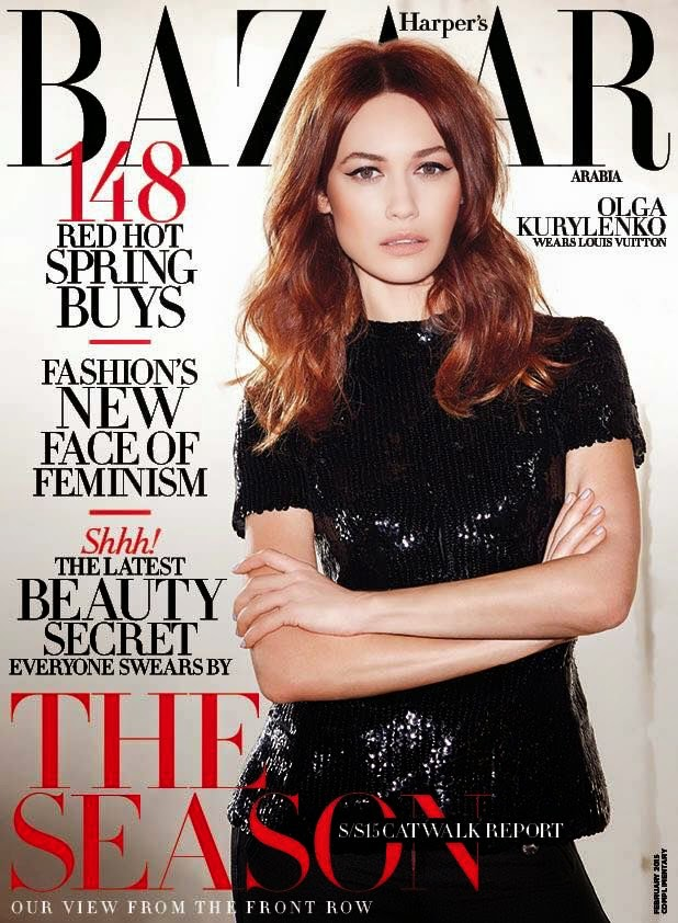 Actress: Olga Kurylenko for Harper's Bazaar
