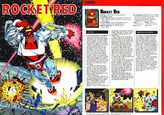 Cohete Rojo (ficha dc comics)