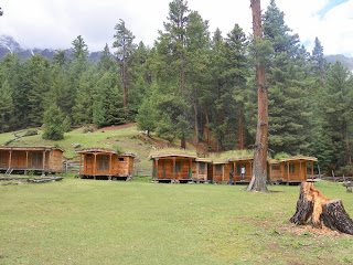 Cottages in Fairy meadows