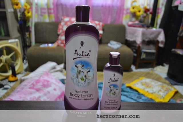 Ever Bilena Aulia Perfume Body Lotion (Goat's Milk)
