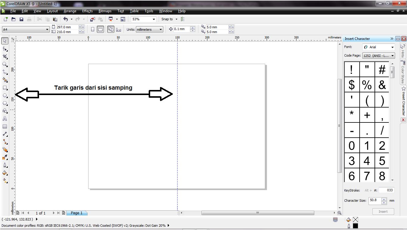 Cara Membuat Undangan Sederhana Menggunakan Corel Draw