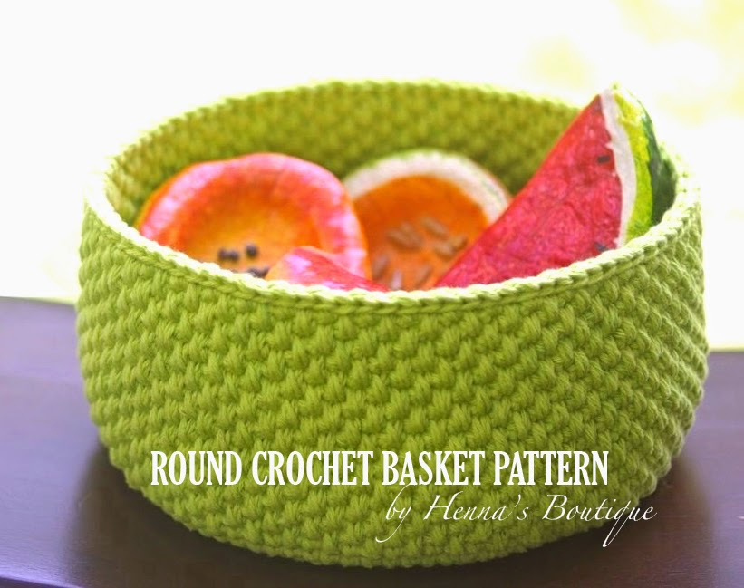 Handy Crafter One Crochet Basket Pattern Done And One On The Way