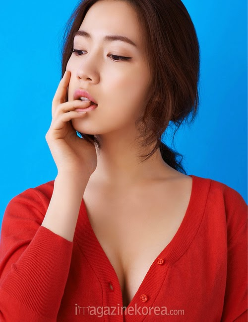 Hwayoung - Esquire April 2014