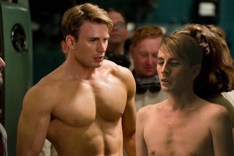 New Steve Rogers meets old Steve Rogers - An artist's impression