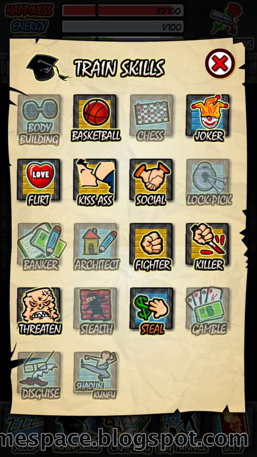 Prison Life RPG mastered skill