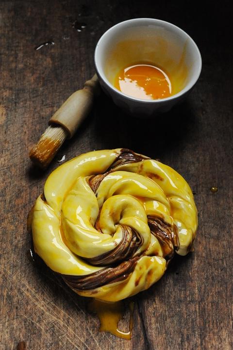 Ça s'rait pas le Nutella Day ??? Et si la plus simple des recettes pouvait aussi… Feuilleté roulé comme un escargot au Nutella !