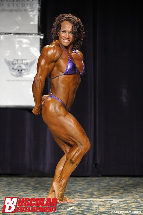Janeen Lankowski Female Muscle Bodybuilding Blog Fitness Muscular Development