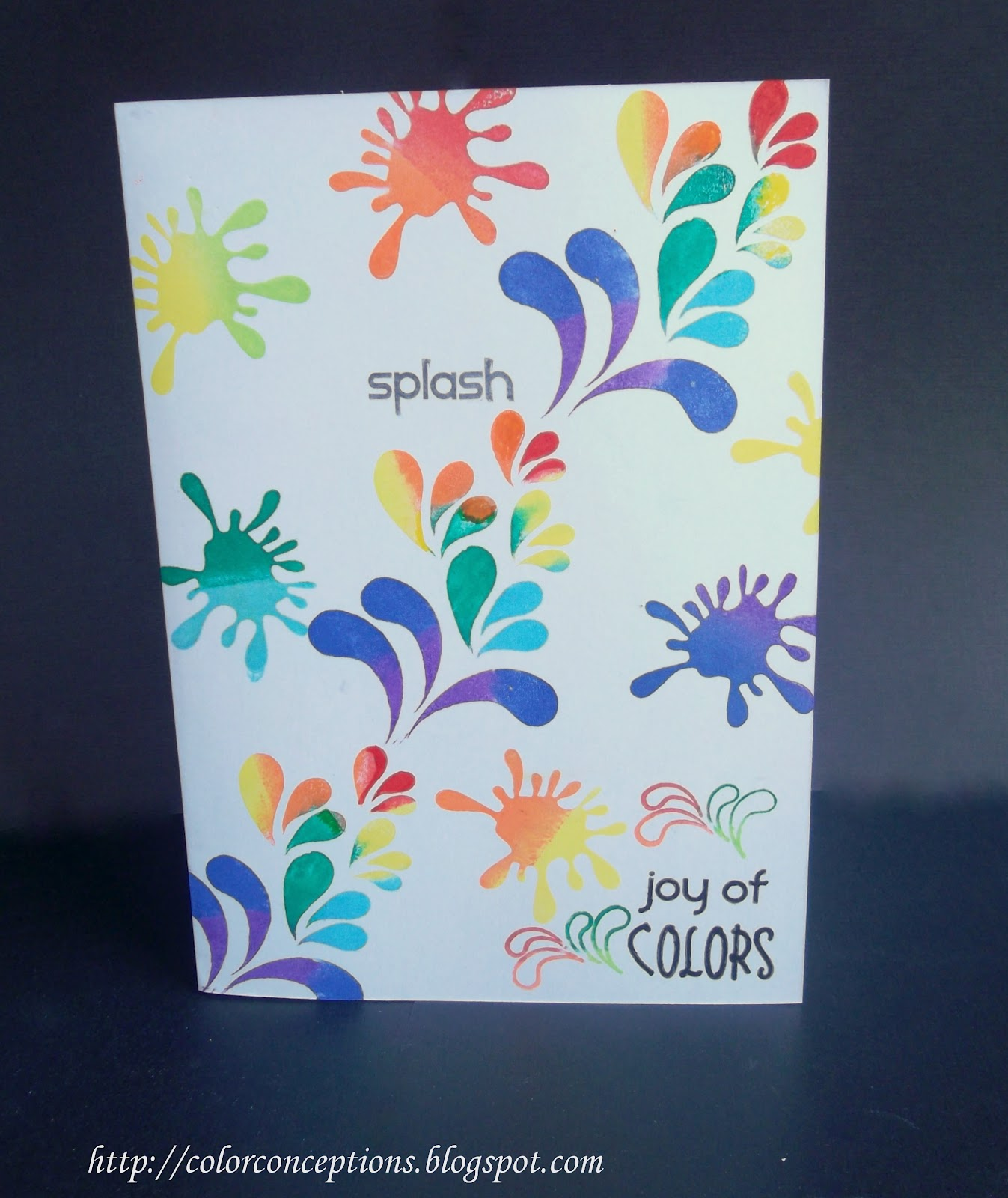 Attractive Holi Card Making Ideas Part - 3: Did U Like The Cards? Please Leave Some Feedback In The Comments.I Really  Appreciate That!