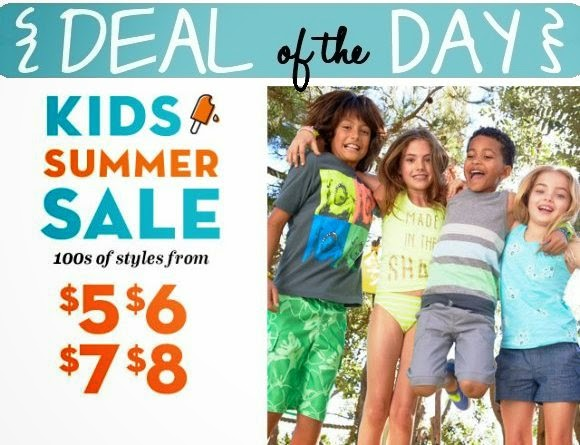 Old Navy Kids Summer Sale — A Modern Mrs.