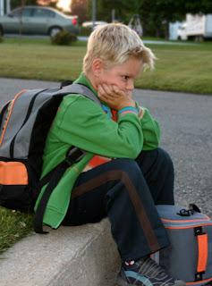 The child refuses go to school