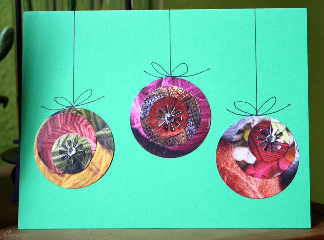 recycled christmas cards ideas