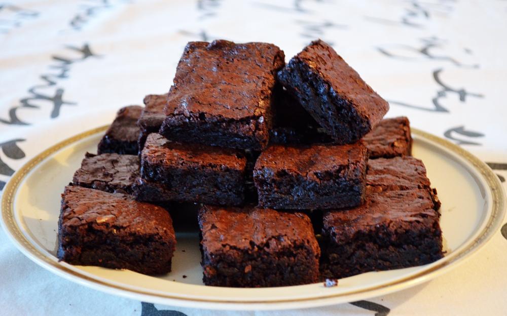 mini brownies recept
